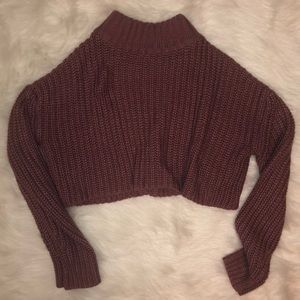Fashion Nova Crop Knit Sweater